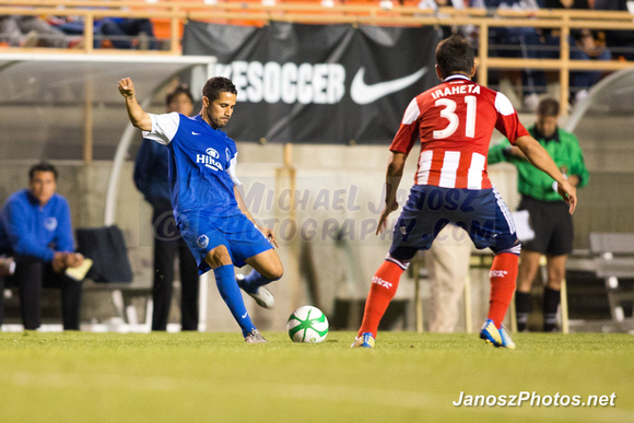 LA Blues vs. CD Chivas USA, USL PRO, MLS, 2013 US Open Cup